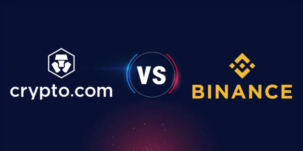 Binance Vs Crypto.com : Analyse, Comparaison, Prix et cartes !